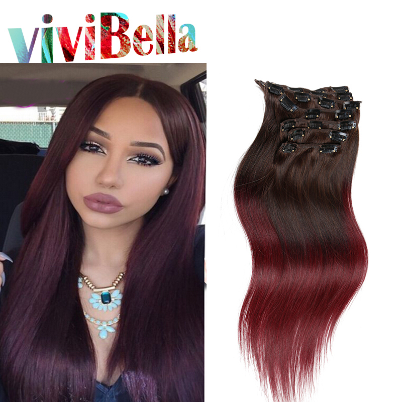 Ms Lula Hair Indian Remy Clip In Human Hair Extensions Straight 100g