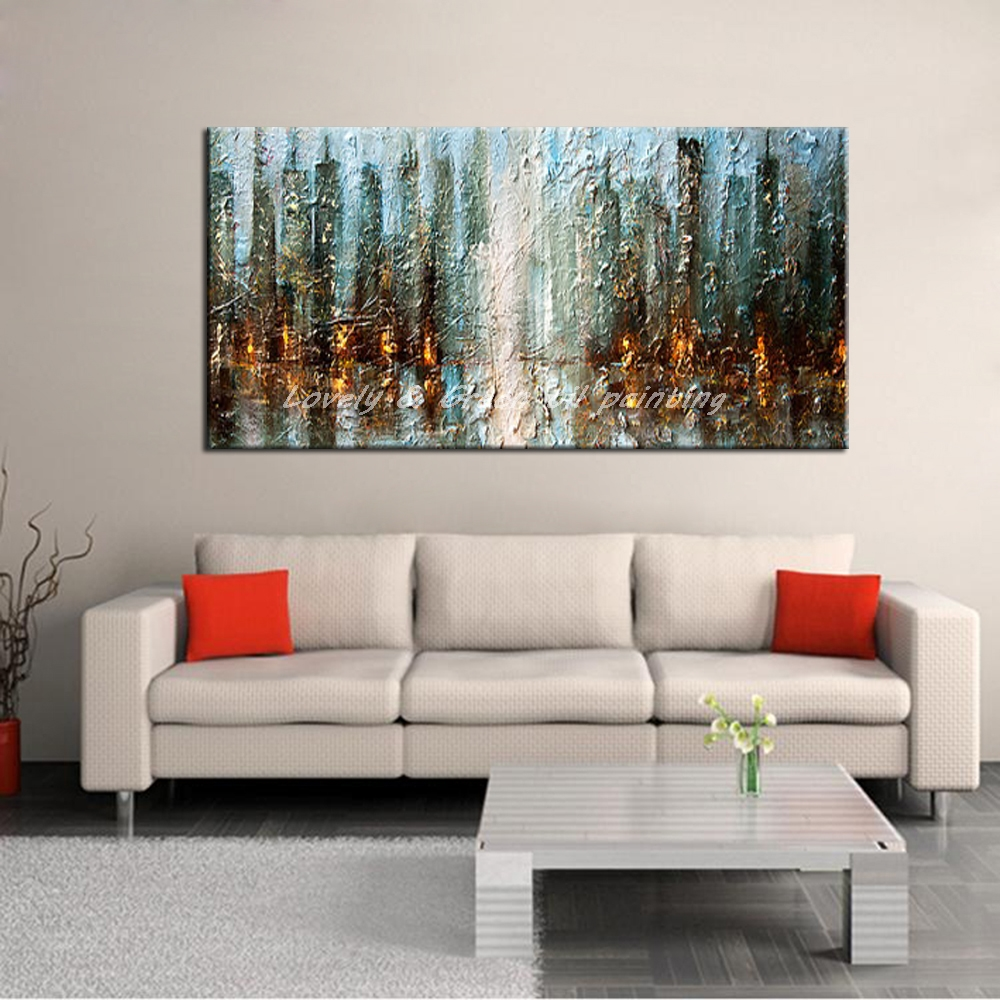 Ręcznie Malowane Dekoracyjne Plakat Na ścianę Art Obraz Olejny Na