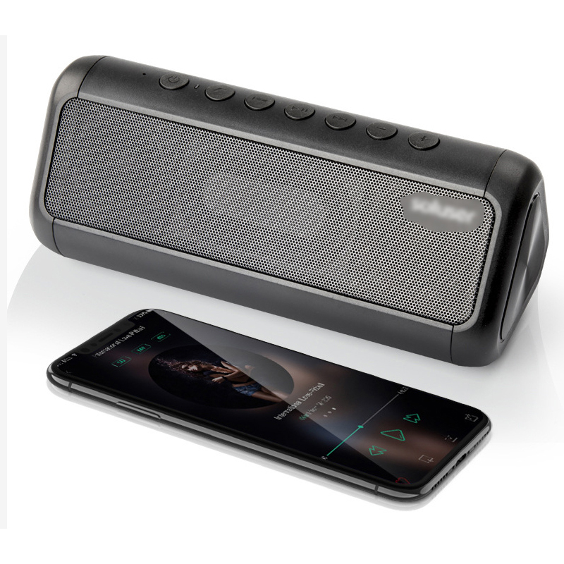 Column Mini Wireless Bluetooth Speaker TF USB FM Portable Music Loudspeakers Hand-free call For iPhone 6 Phone PC with Mic getihu portable mini bluetooth speakers wireless hands free led speaker tf usb fm sound music for iphone x samsung mobile phone