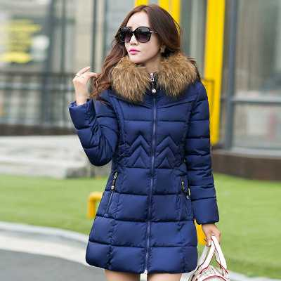 2016 Luxury Fox Fur Hooded Winter White Duck Coat Parkas Long A-Line Fur Collar Thicken Warm Jacket Overcoat A3859 2015 new hot thicken warm cold woman down jacket coat parkas outerwear hooded fox fur collar long plus size 3xxxl luxury brand