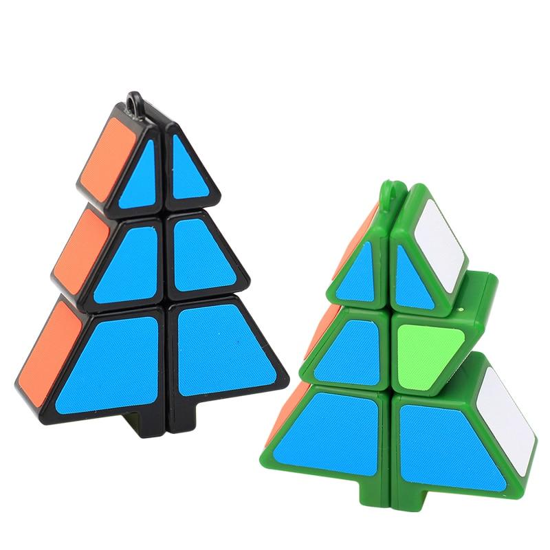 El más nuevo ZCUBE 1x2x3 Árbol de Navidad en forma de Cubo Mágico - Juegos y rompecabezas - foto 1