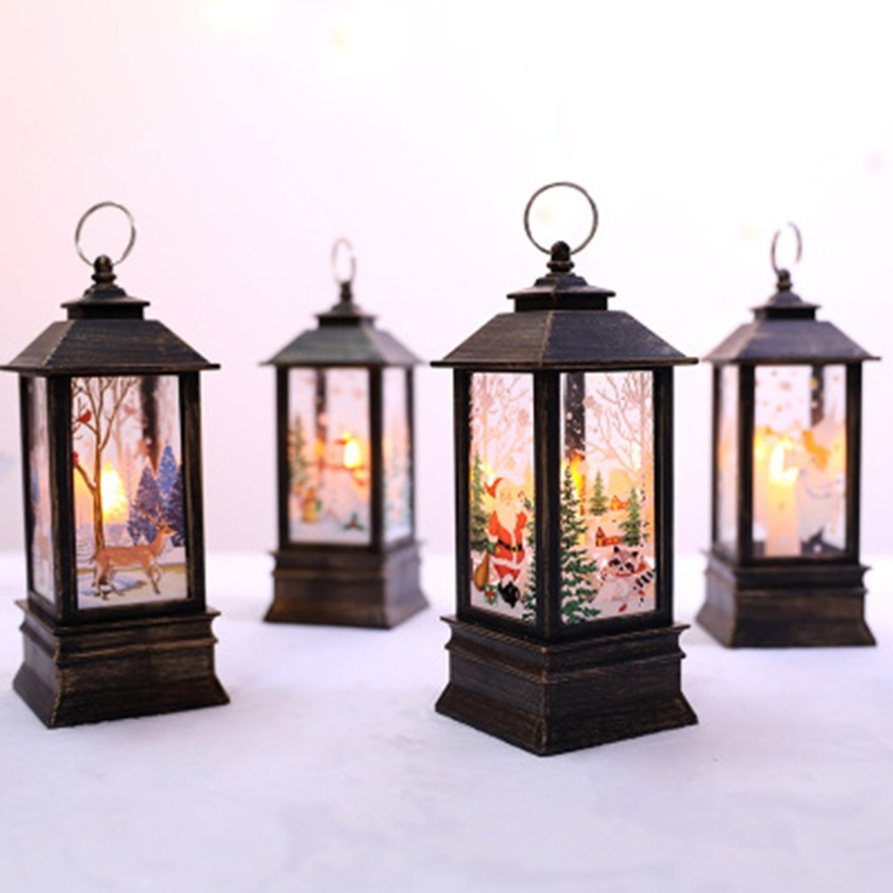 LED Christmas Candle with Holder LED Tea light Candles ...