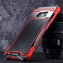 Samsung Galaxy S8 Case Cover Shockproof Aluminum Metal