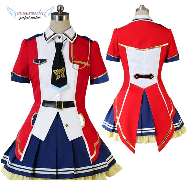 THE IDOLM STER Million Live!Makabe Mizuki Momose Rio Yabuki Kana Minase  Iori Emily Stewart Perfect Cosplay Custom For you!-in Anime Costumes from  Novelty ... 2da96c30f