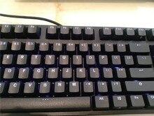 IKBC F87 TKL mechanical keyboard tenkeyless  PBT cap  blue led cherry mx switch  brown  blue White led backlit gaming keyboard