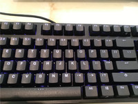 IKBC F87 TKL mechanical keyboard tenkeyless blue led cherry mx switch brown blue White led backlit gaming keyboard