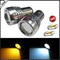 2x Canbus Del Errores Brillante Estupendo Blanco/Ámbar de Alta Potencia de 1157 Switchback Bombillas LED Para Las Luces de Señal de Giro + Resistencia de carga Combo