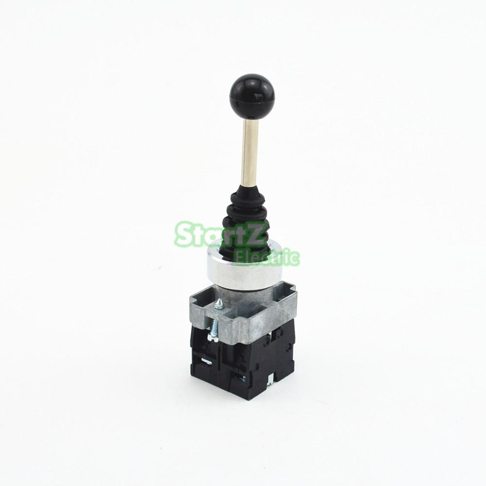 XD2PA12CR 2NO 2Positions self-locking Joystick Switch Rocker Switches Monolever Switch