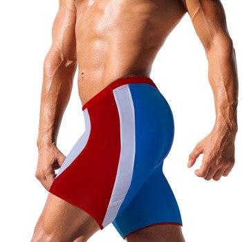 5be74ab48138 Brave Person Marca Ropa interior hombres Boxers Sexy alta calidad hombres  Boxer pantalones cortos ...