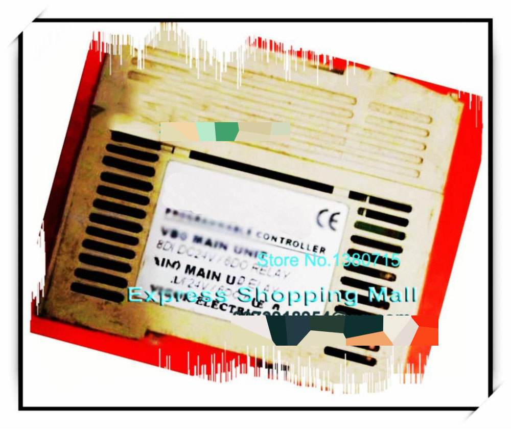 New Original VB0-14MR-A PLC 24VDC 8 point input 6 point output Main Unit vb0 20mt
