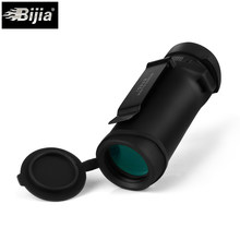 Bijia 10x32 poderoso náutico privado monocular 2 cores lente óptica bak4 prisma telescópio com clipe