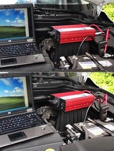Image 2 - 12 V 220 V Inverter di Potenza 3000 W Auto Inverter 12 v a 220 v Inverter Convertitore Portatile Auto di Potenza caricatore di alimentazione USB