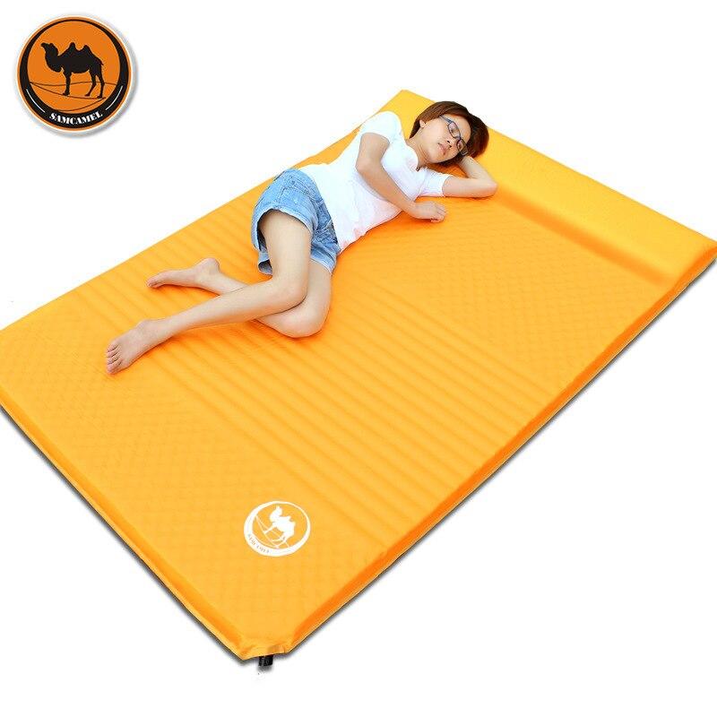 double air mattress camping Samcamel Outdoor Camping Mat Double Air Mattress Inflatable  double air mattress camping