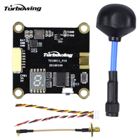 Turbowing Cyclops TX18011 0/25/200/600mW Transmitter With Antenna 5.8G 48CH FPV VTX Video Transmitter For RC Multicopter