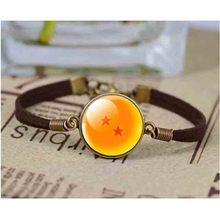 Dragon Ball Style Leather Bracelet