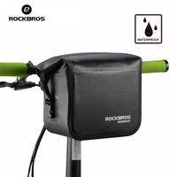 ROCKBROS Waterproof Bike Bicycle Bag Handlebar Front Tube Bag Cycling Bike Accessories Saddle Bag Bicicletas Accesorios