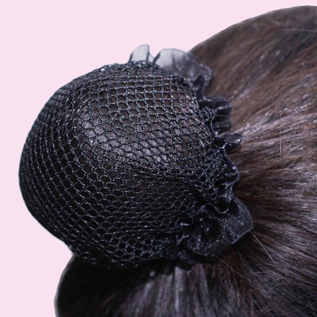 7aaa7172 US $1.99  Invisible hair nets cuerda de pelo de moda nueva Alta resistencia  sin goma del pelo accesorios ninas mujeres Ponytail elastico-in Women's ...