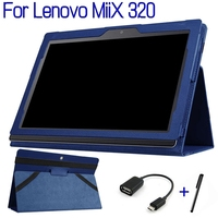Magnetic Stand Smart PU Leather Cover For Lenovo MiiX 320 10 1 Tablet PC Funda Case