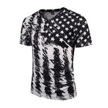 2017Mr.1991INC New Fashion Brand Tshirt Men/Women V-neck 3d T-shirt Print Skulls Roses Flowers USA Flag T shirt Summer Tops Tees