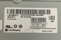 Oryginalny 23.8 cal LM238WF2 SSF1 LM238WF2 SSF1 LM238WF2 (SS) (F1) U2414HB P2414H S2415H IPS doprowadziły ekran LCD lcd screen lcd led screenled lcd -