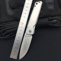 Sanrenmu 7096 LUC-SC Folding Messer 12C27 Klinge Voller Stahl Griff Outdoor Camping Jagd Überleben Schneiden Werkzeug EDC Tasche Messer