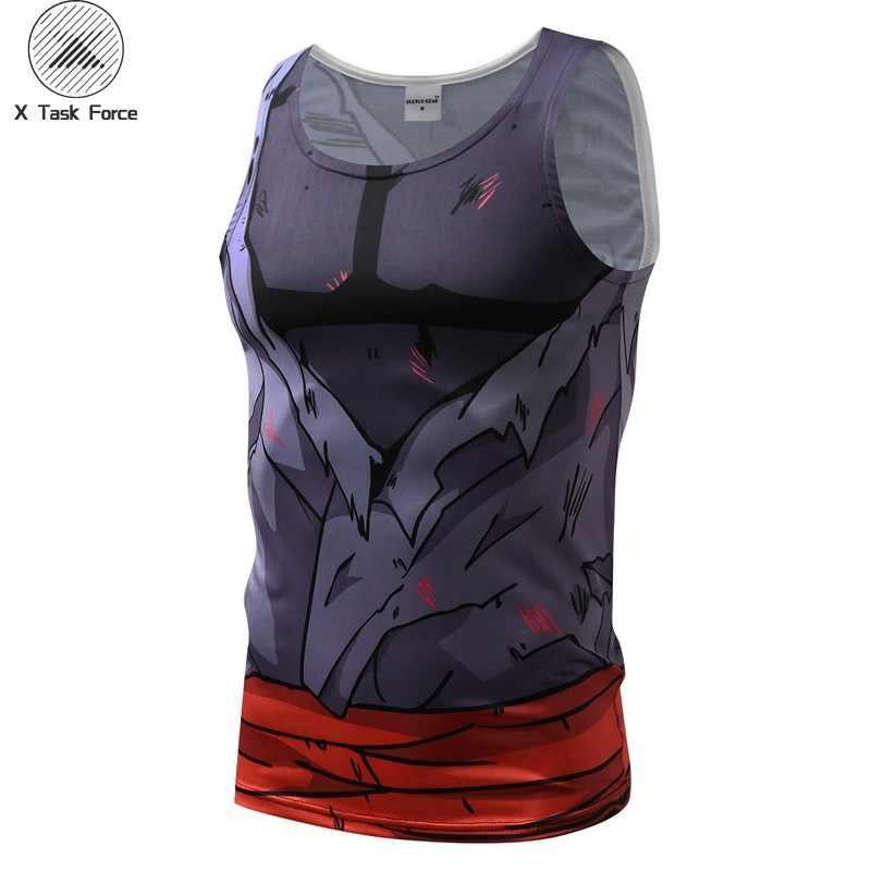 Новый 2019 жилет супер 3D футболки для девочек Аниме Драконий жемчуг Z для мужчин женщин суперсолдат Исайя Вегета ГОКу косплэй сжатия рубашк