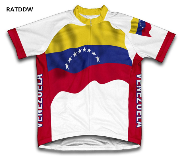 Venezuela Flag Men Cycling Jersey Mountain Bicycle Bike Clothing Clothes Quick  Dry Bicycle Sportswear Ropa Ciclismo 21442515a