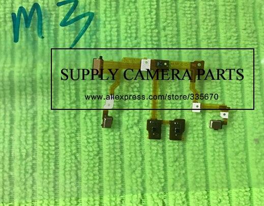 Pièces de Rechange Pour Sony DSC-RX100 III M3 MARK III RX100M3 RX100-3 Bague de Mise Au Point Contacts Capteur Câble