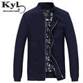 Slim Thin Men Jacket 2016 Autumn Winter  Fashion Stand Collar Male Coats Zipper Closure Brand ClothingHD8808