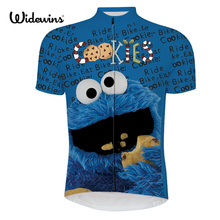 men cycling jersey pro team blue maillot ciclismo ropa bici de la mtb bike jersey cycling clothing cartoon funny jersey 6516