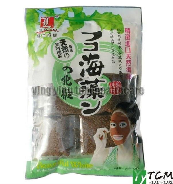 20 packs/lot wholesale seaweed facial mask granule (whitening and moisturizing)