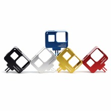 New arrival Aluminum alloy Standard protective cage Frame case for Action Cameras accessories monopod Gopro Hero 5