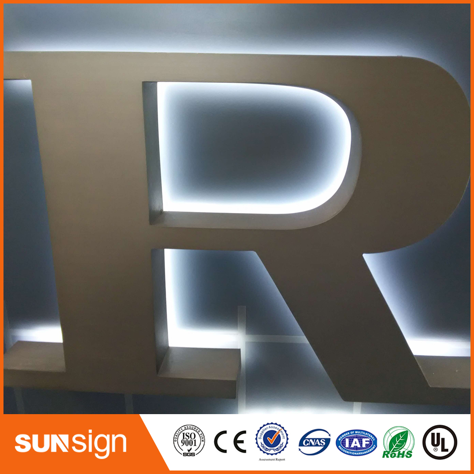 DIY Easy Installnation Led Backlit Channel Letter Sign