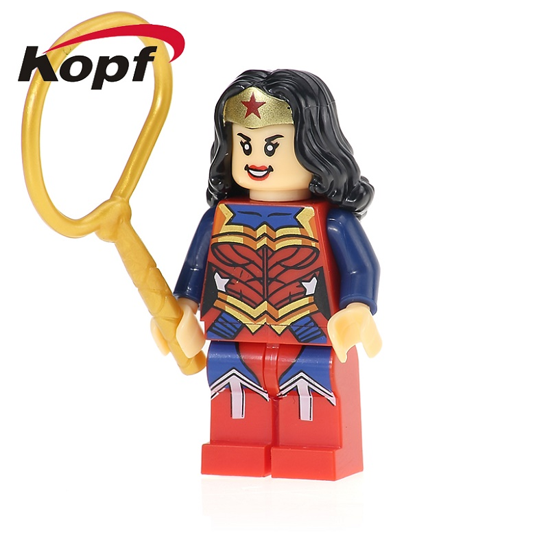 50Pcs XH 687 Wonderwoman Building Blocks Latest Super Hero Movie Best Learning Education Figure DIY Toys For Children Gift Toys ...