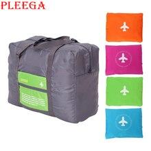 PLEEGA Brand Folding Travel Bag High Capacity Portable Men Women Travel Bag Luggage Travel Clothing Organizer Travel Totes