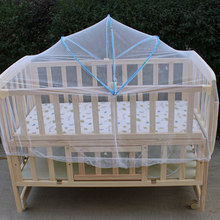 Universal Babies Cradle Summer Safe Arched Ger Type Mosquitos Net Baby Bed Mosquito Nets Delicate for Kids Room Props Body Care(China)