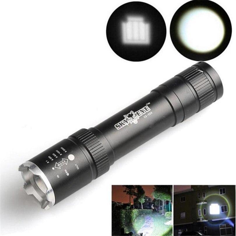 <font><b>2500</b></font> люмен Масштабируемые Q5 <font><b>LED</b></font> 18650 фонарик факел лампы Велосипедное освещение Аксессуары оптом и в розницу Высокое качество Портативный T1