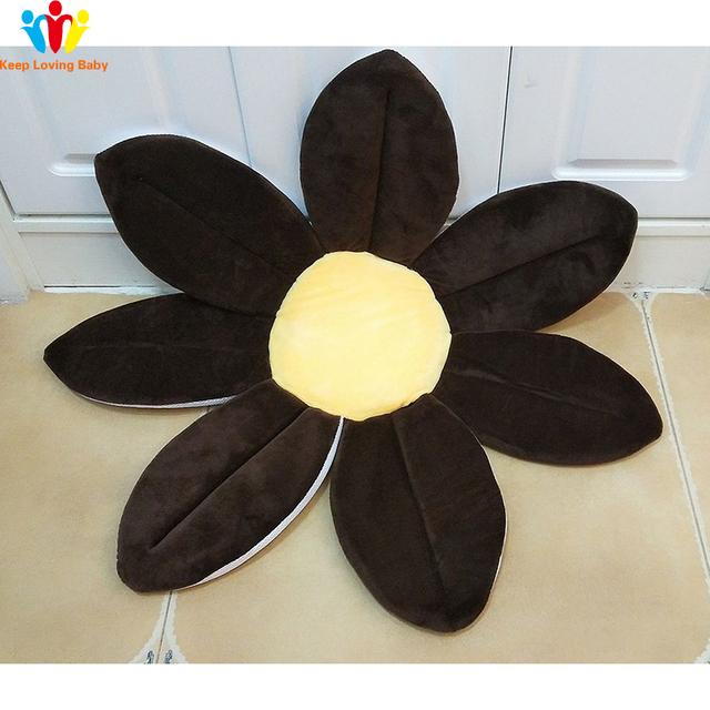 Baby bath Blooming Flower Newborn Bathtub Foldable Lotus shape Cushion skin Bath pad portable bath tub Soft Seat