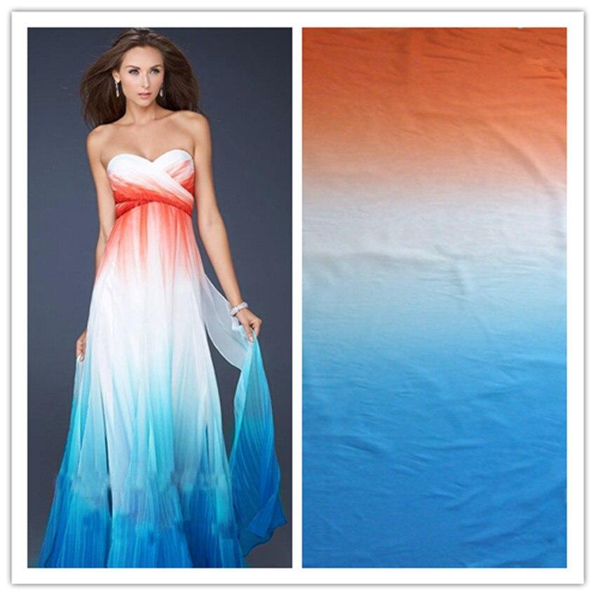 100D chiffon fabric fabric transition stage clothing dress fashion fabrics