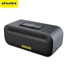 Awei Y600 NFC алюминиевый сплав Металл Портативный мини беспроводной динамик CSR 4,1 bluetooth колонки Поддержка AUX для htc xiaomi телефон