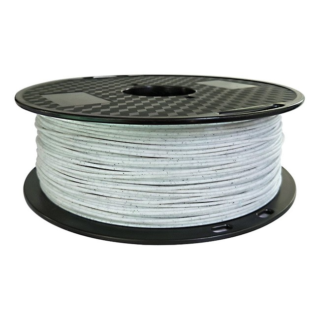 PLA marble 3d printer filament 1.75mm 1KG stone wire rock texture plastic printing materials for stone ceramic statue creativity