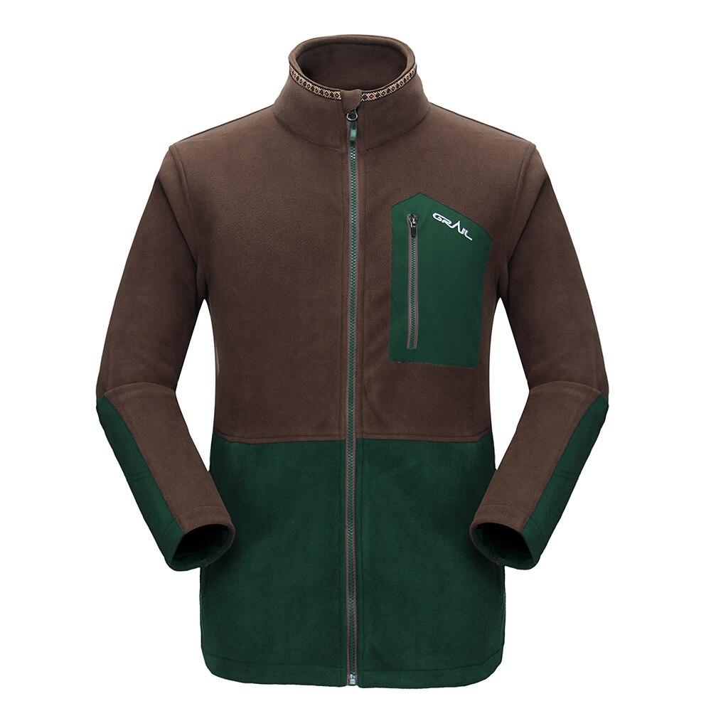 Grail Outdoor Hiking Jacket Ерлер Thicken Brand Fleece Jacket - Спорттық киім мен керек-жарақтар - фото 6