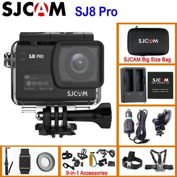 SJCAM SJ8 Pro SJ8 seria 4K 60FPS pilot wifi kask kamera akcji Ambarella Chipset 4 K 60FPS ultra hd sporty ekstremalne aparat dv tanie i dobre opinie SONY IMX377 (1 2 3 12 MP) Ambarella H22 (4K 60FPS) O 12MP 1200 mAh 1 2 3 cali Extreme Sports Beginner For Home Professional