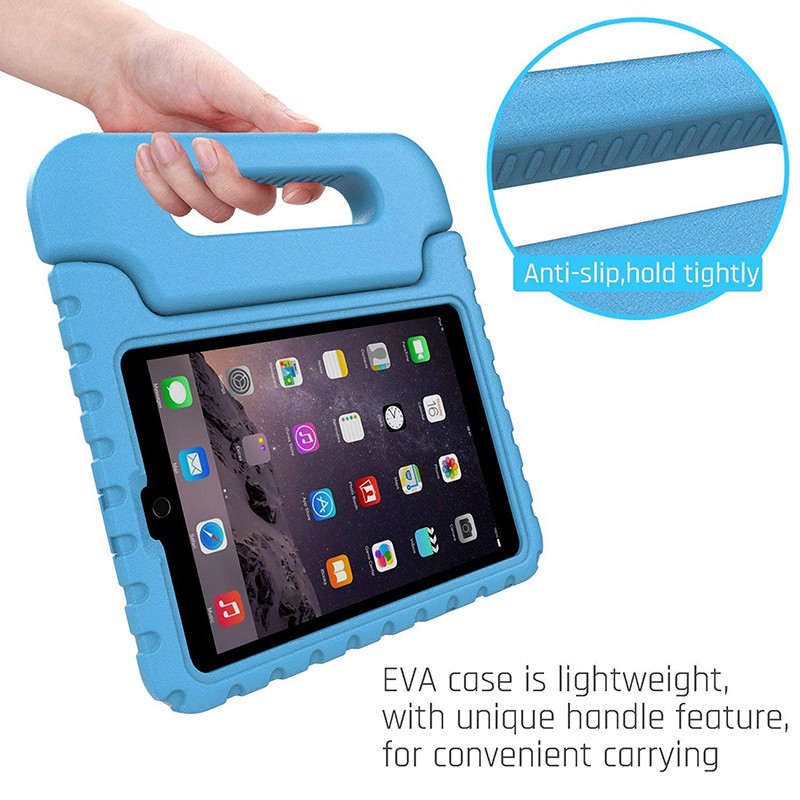цена на Luxury Silicone Case For iPad 2 3 4 Case Cover Shockproof Children Kids Handle Stand Protective Cover For Ipad 2 3 4 Case Cover