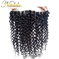 7A Malaysian Curly Hair Lace Frontal Closure Nadula Virgin Hair 13*4 Malaysian Curly Virgin Hair Closure (Can Be Customize )