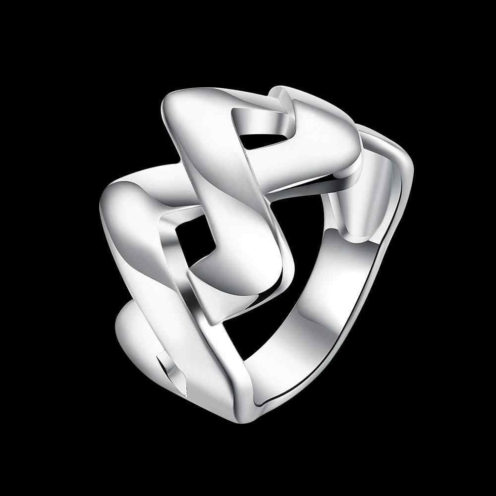 卸売925シルバー用結婚式ジュエリーキュービックジルコニアはめ込ま婚約ビジュー女性r810リング
