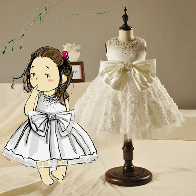 infant party dress wedding dresses turkey flower girls dresses for party and wedding white deguisement ball gowns dress