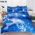 Increíble caliente Galaxy 3D ropa de cama cerca Galaxy cuenta tu sueño más fácil funda de edredón de tamaño reina ropa de cama ropa de cama