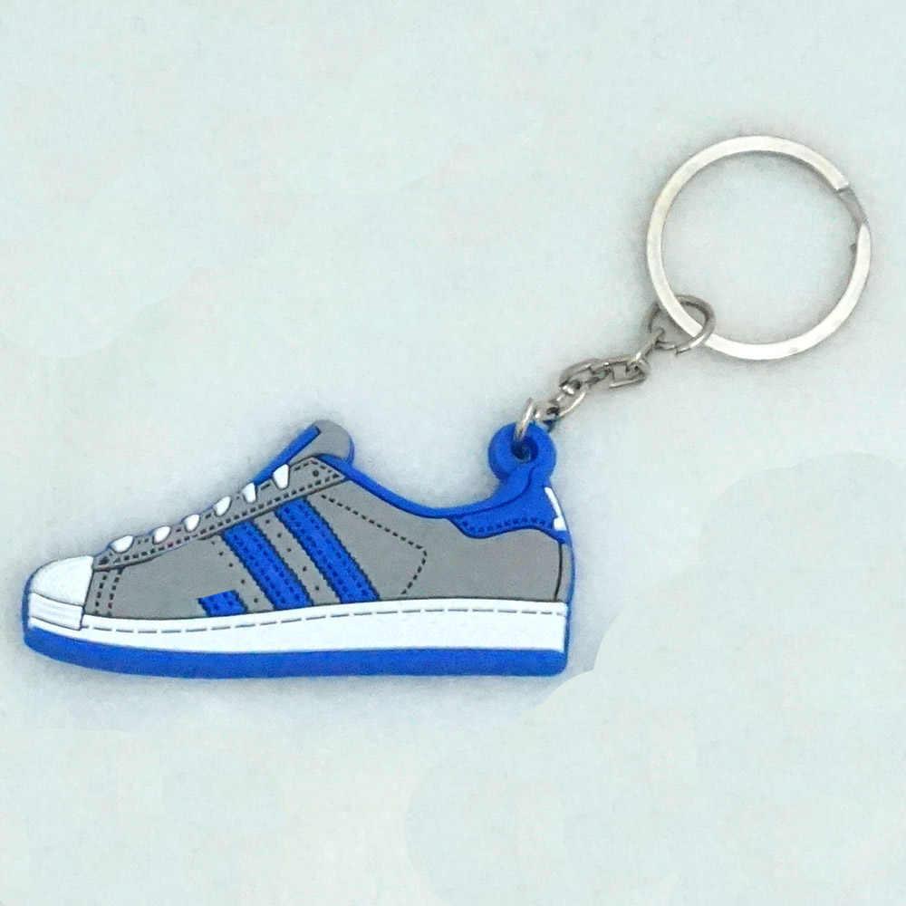 Mini Giày Silicon Móc Khóa Túi Quyến Rũ Người Phụ Nữ Nam Trẻ Em Móc Khóa Quà Tặng Giày Sneaker Móc Khóa Mặt Dây Chuyền Phụ Kiện Giày Móc Chìa Khóa