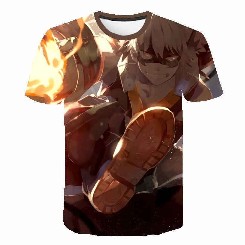 BIAOLUN 2019 Новинка 3D My Hero Academy футболка для мужчин/женщин Летняя футболка Harajuku толстовки My Hero Academy 3D футболка M-5XL